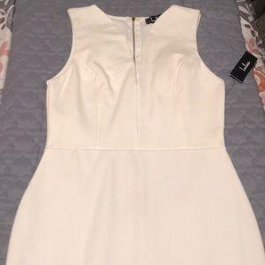 Lulu's White Body Con dress